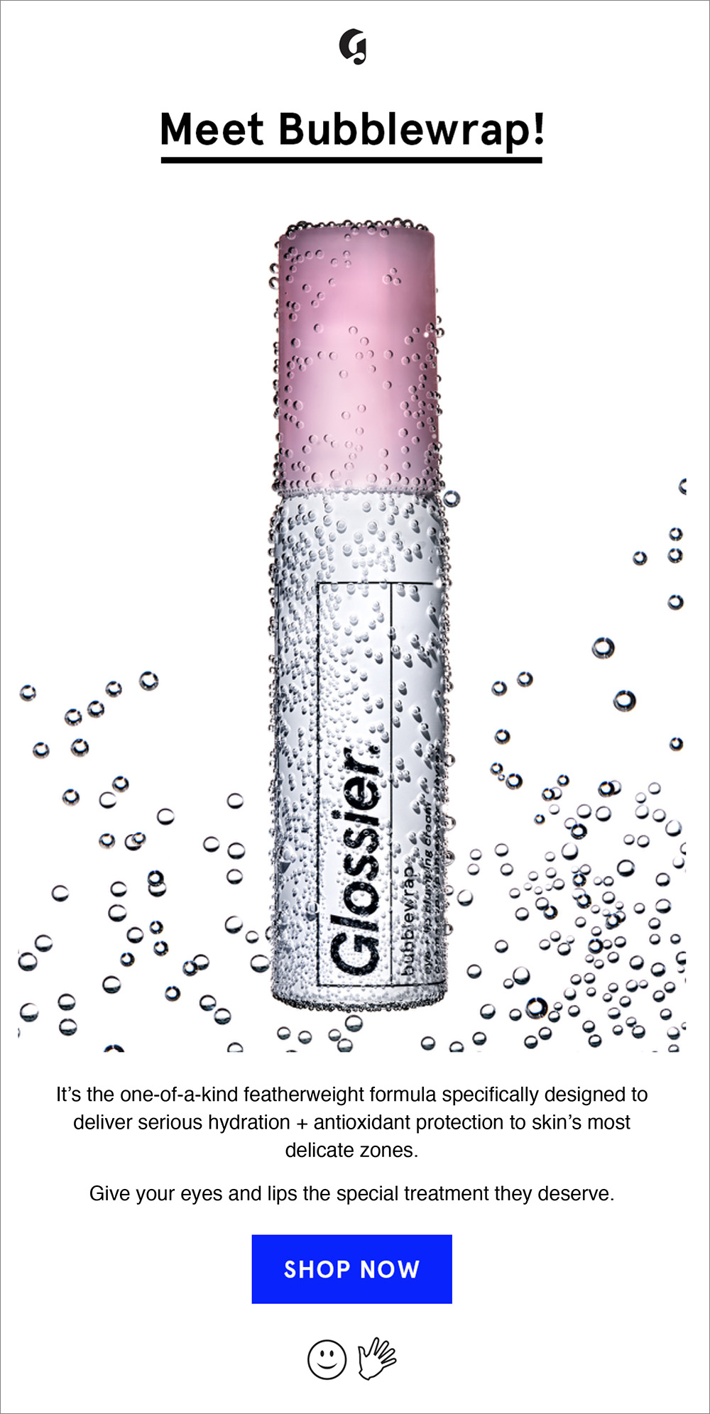 NEW Our eye  lip cream is here